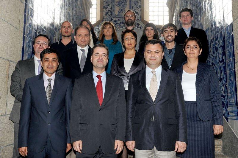 Braga estreita relações com a Turquia