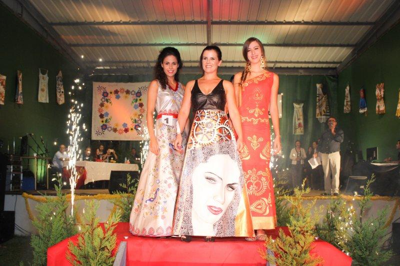 Concurso Vestido Pintado atrai centenas de pessoas a Palmeira