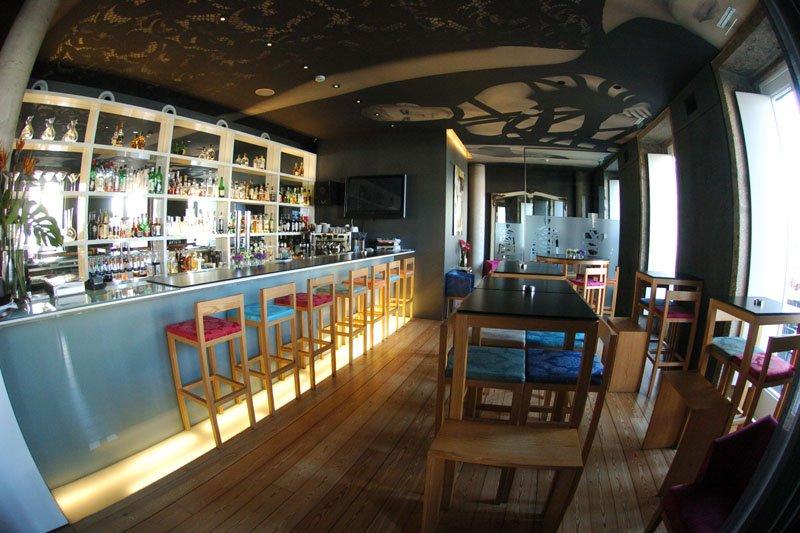 Beleza arquitectónica do Restaurante Brac funde-se com a qualidade gastronómica
