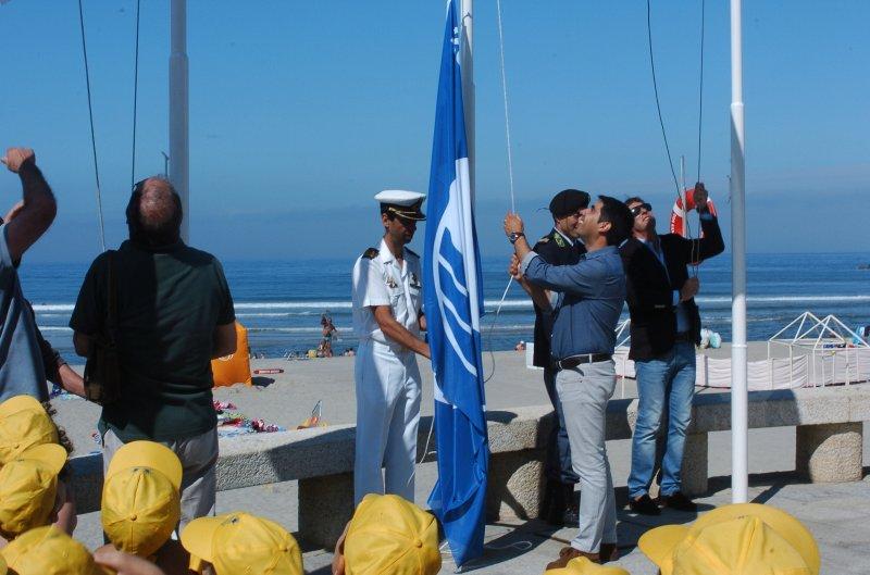 Caminha tem bandeira azul em todas as praias do concelho