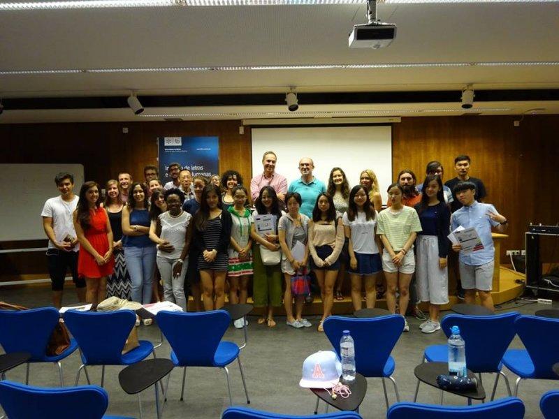 Cidadãos de dez nacionalidades aprenderam Português na UMinho